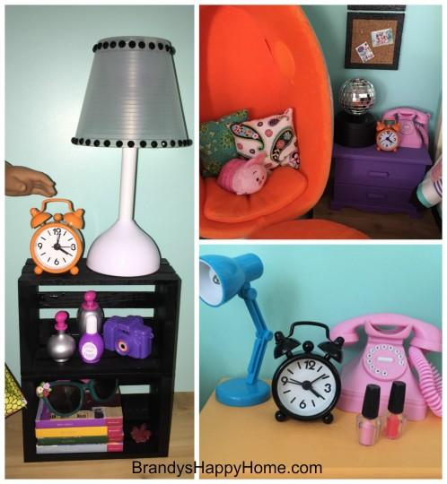 alarm clock for american girl dolls