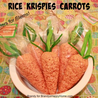 Rice Krispies Carrots