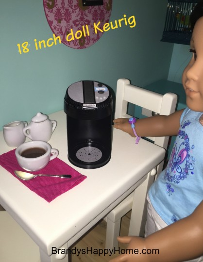steps to make a doll keurig