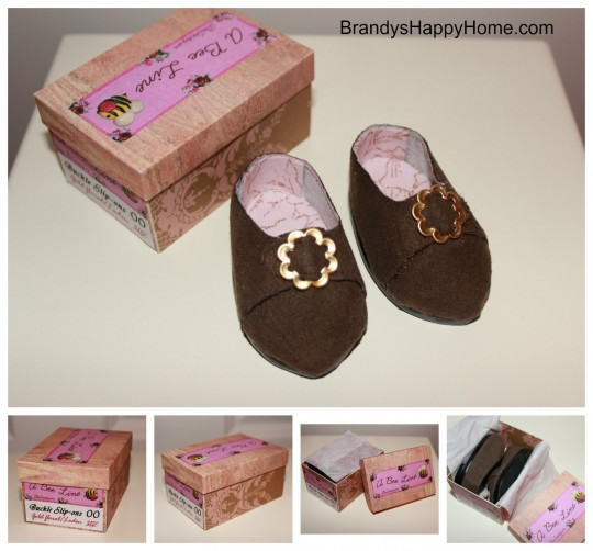 Claire Fraser Doll Shoes