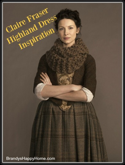 Claire Fraser Highland Dress Inspiration