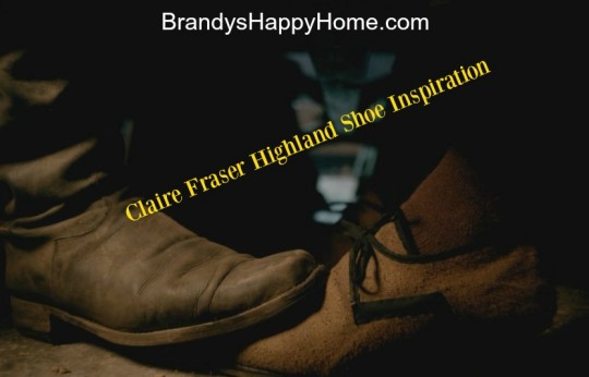 Claire Fraser Highland shoe inspiration