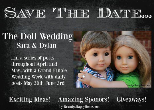 Doll Wedding Announcement 2