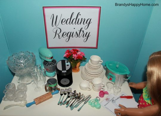 Doll Wedding Registry Gifts