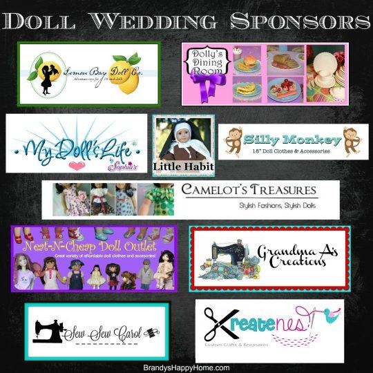 Doll Wedding Sponsors 2