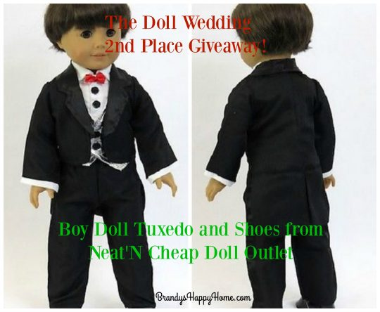 Doll tuxedo Giveaway