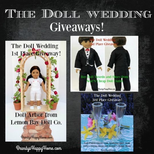 The Doll Wedding Giveaways