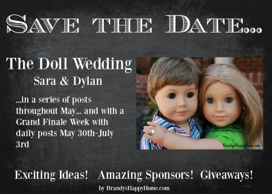 doll wedding annoucement
