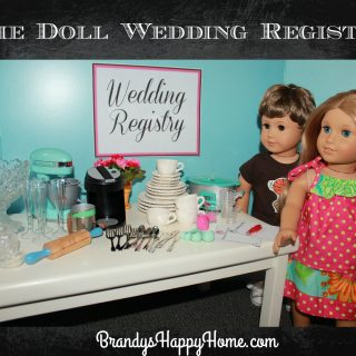 The Doll Wedding Registry