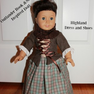 Claire Fraser Doll
