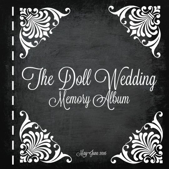 Doll Wedding Memory album