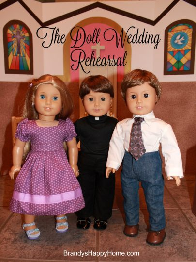 Doll Wedding Rehearsal