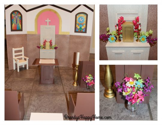 Doll church flowers