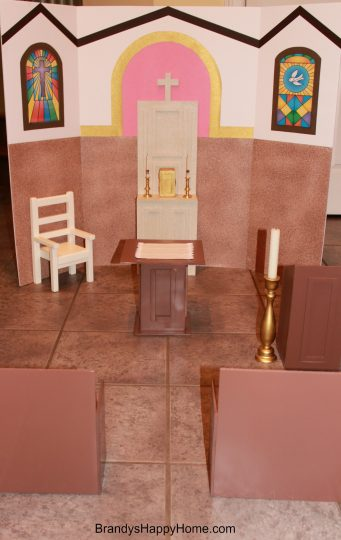 american girl doll church