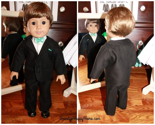 boy Doll wedding groom tuxedo