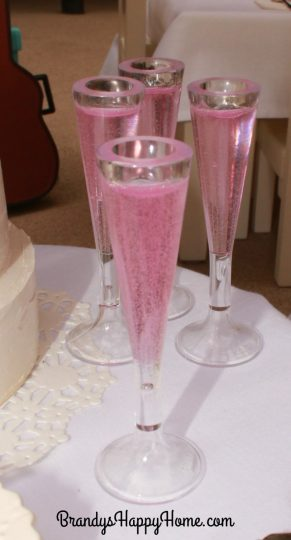 doll pink bubbly punch