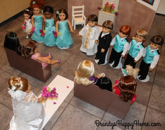 doll wedding bride