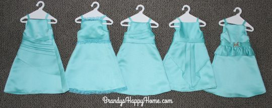 doll wedding bridesmaids dresses 2