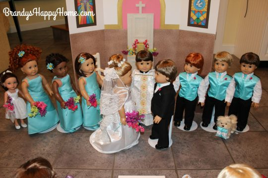 doll wedding ceremony