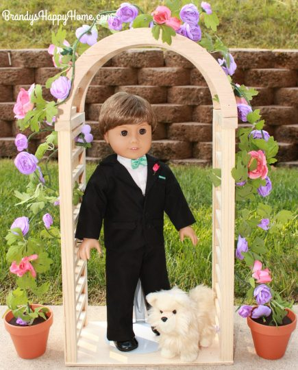 doll wedding groom and ring bearer