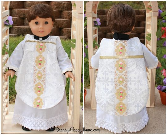 doll wedding priest