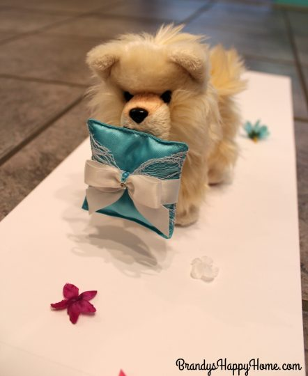 doll wedding ring bearer