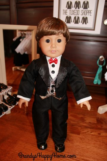 doll wedding tux