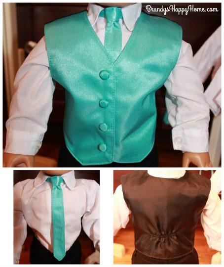 groomsmen vest tie