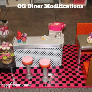 Our Generation Diner Modifications for Play