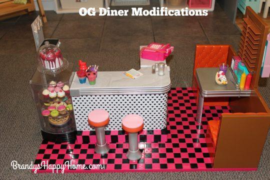 OG diner modifications