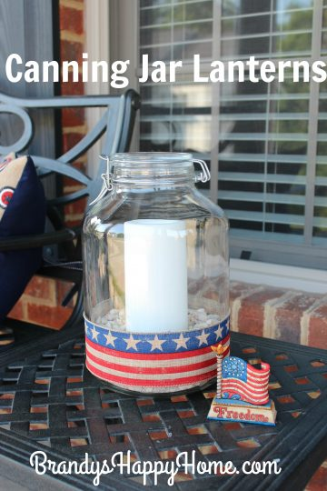 canning jar lanterns