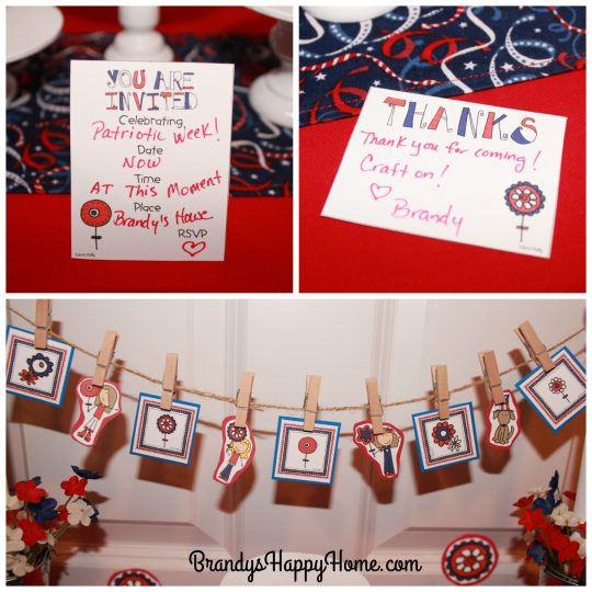 doll patriotic party decorations