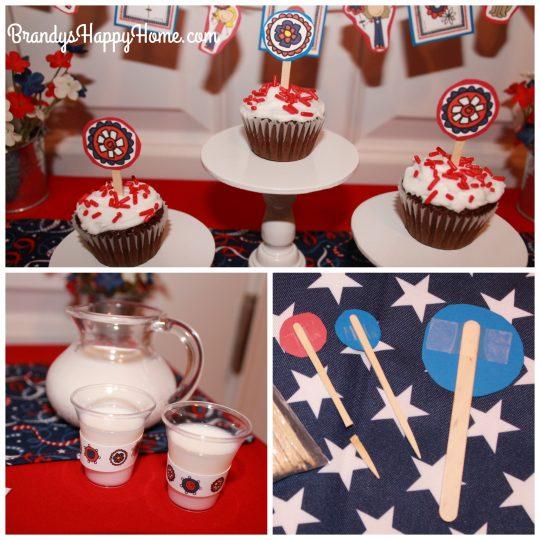 doll patriotic party food