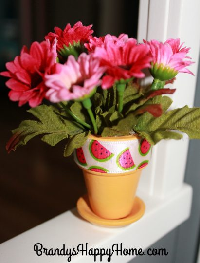 dollhouse flower pot