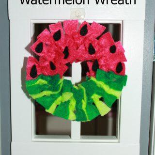 Dollhouse Watermelon Wreath & Mat
