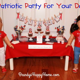 Patriotic Party for Dolls & Kids