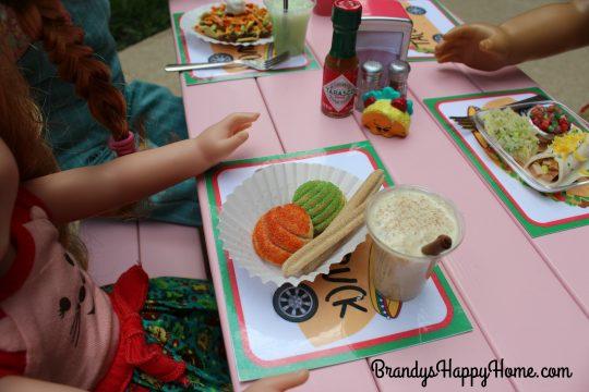 doll churro conchas horchata