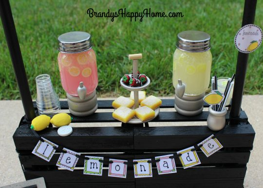 doll lemonade dispensers