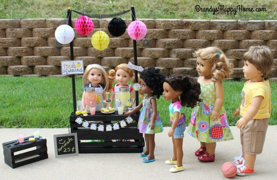 doll lemonade stand buyers
