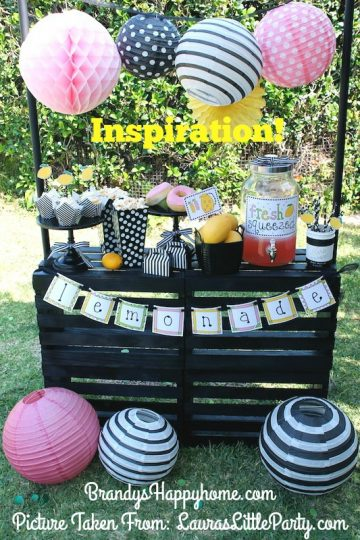 doll lemonade stand inspiration