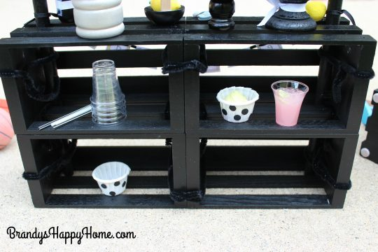 doll lemonade stand storage