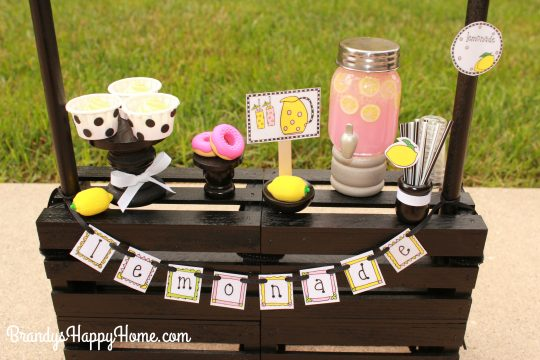 doll lemonade stand sweets