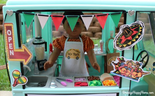 doll taco truck banner