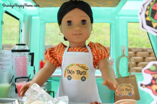 doll taco truck chef