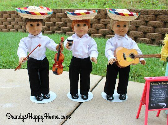 doll taco truck mariachi band