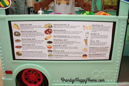 doll taco truck menu