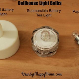 Dollhouse Light Bulbs