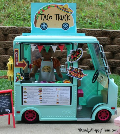 food truck for dolls
