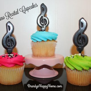 Piano Recital Cupcakes