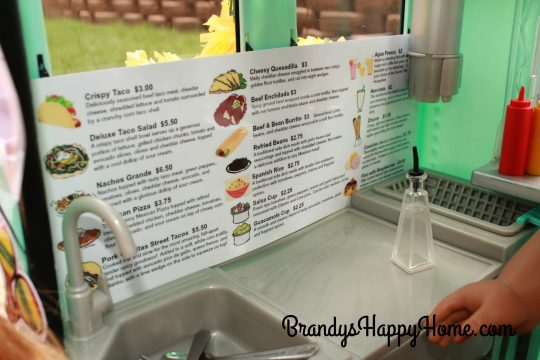 taco truck kitchen menu
